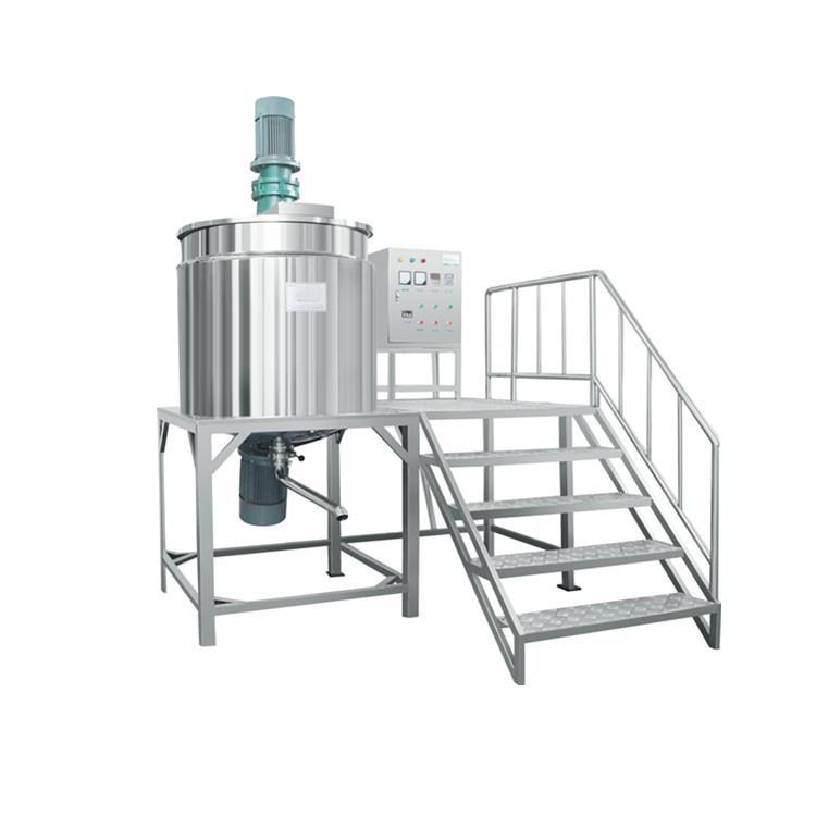 Industrial Mixing Tanks with Agitators