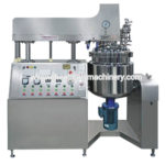 Lifting-type Cosmetic Vacuum Homogeneous Emulsifying Machine