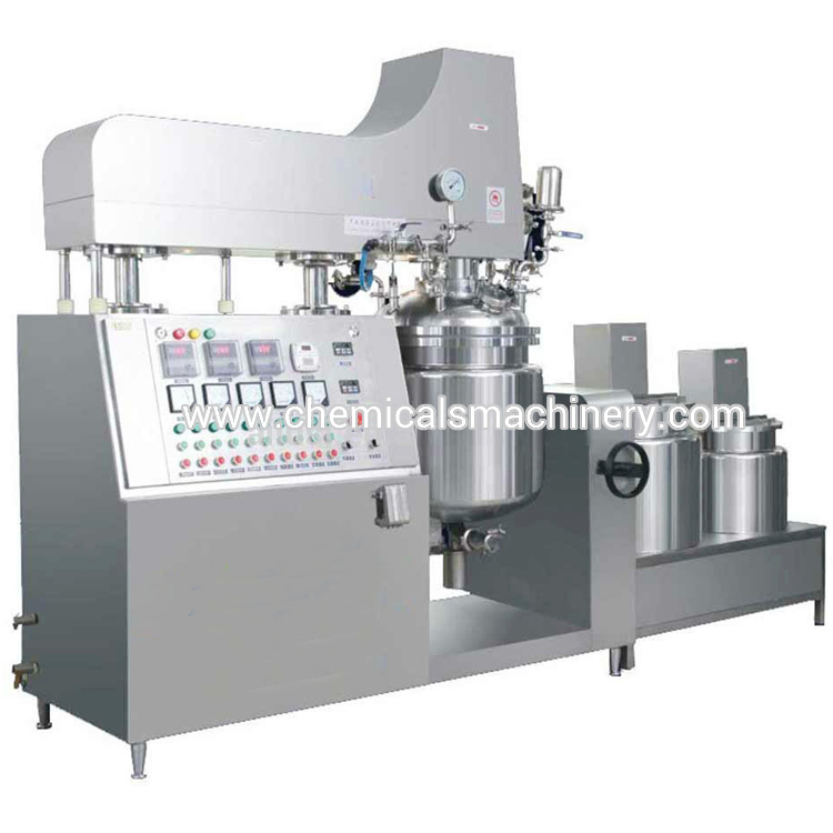 50L Ointment and Cream Vacuum Emulsifying Machine