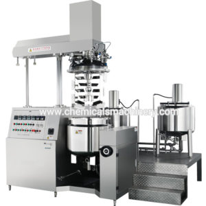 Pharmaceutical Cream and Ointment Making Process with Emulsifying Mixer