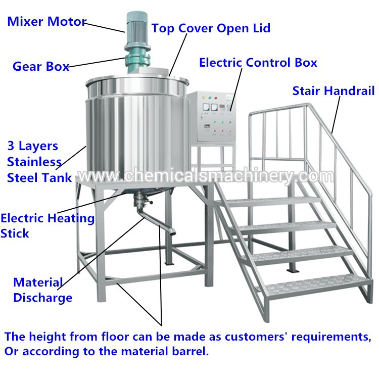 Soap Making Machine Mixing Tank