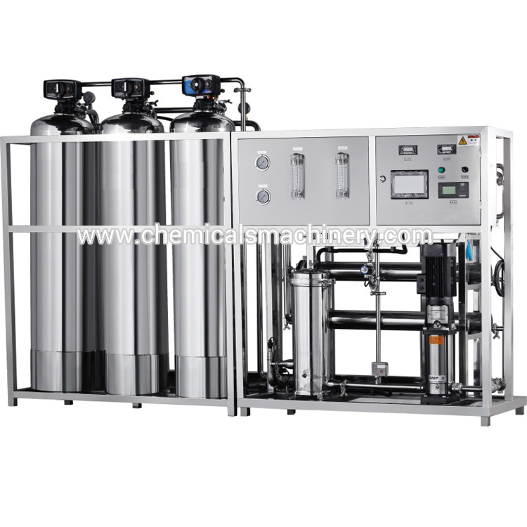 500 L/H Reverse Osmosis RO Water Treatment Plant Supplier
