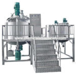 Fixed Type Vacuum Homogenizing Emulsifier Machine