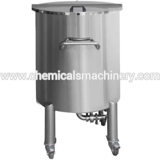 Manufacturing Movable Stainless Steel Storage Tank