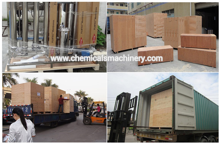 Reverse Osmosis Equipment Packing and Shipping