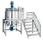 Jacket Chemical Cosmetic Liquid Mixing Tank with CE