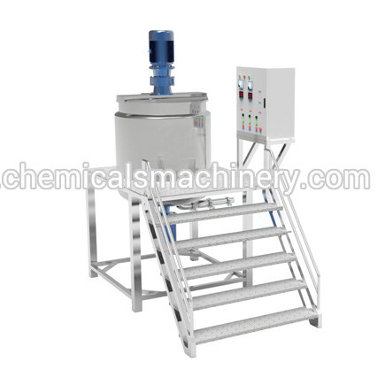 Stainless Steel Homogenizing Lotion Mixer Cosmetic Machine