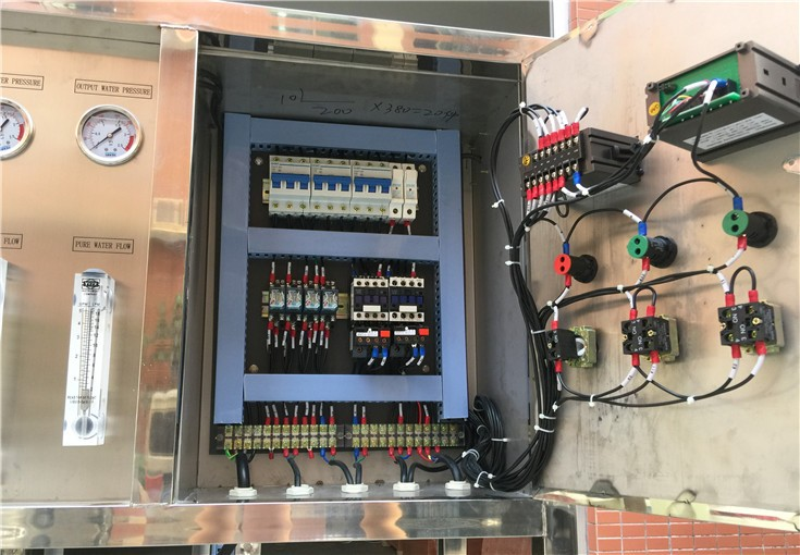 Industrial RO Water Treatment Plant Electrical Operation Panel